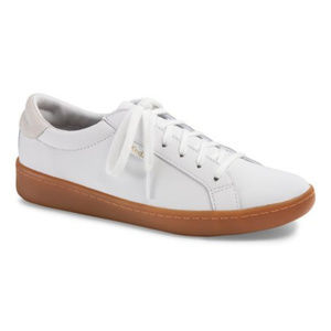 New KEDS White Leather Fashion Sneakers